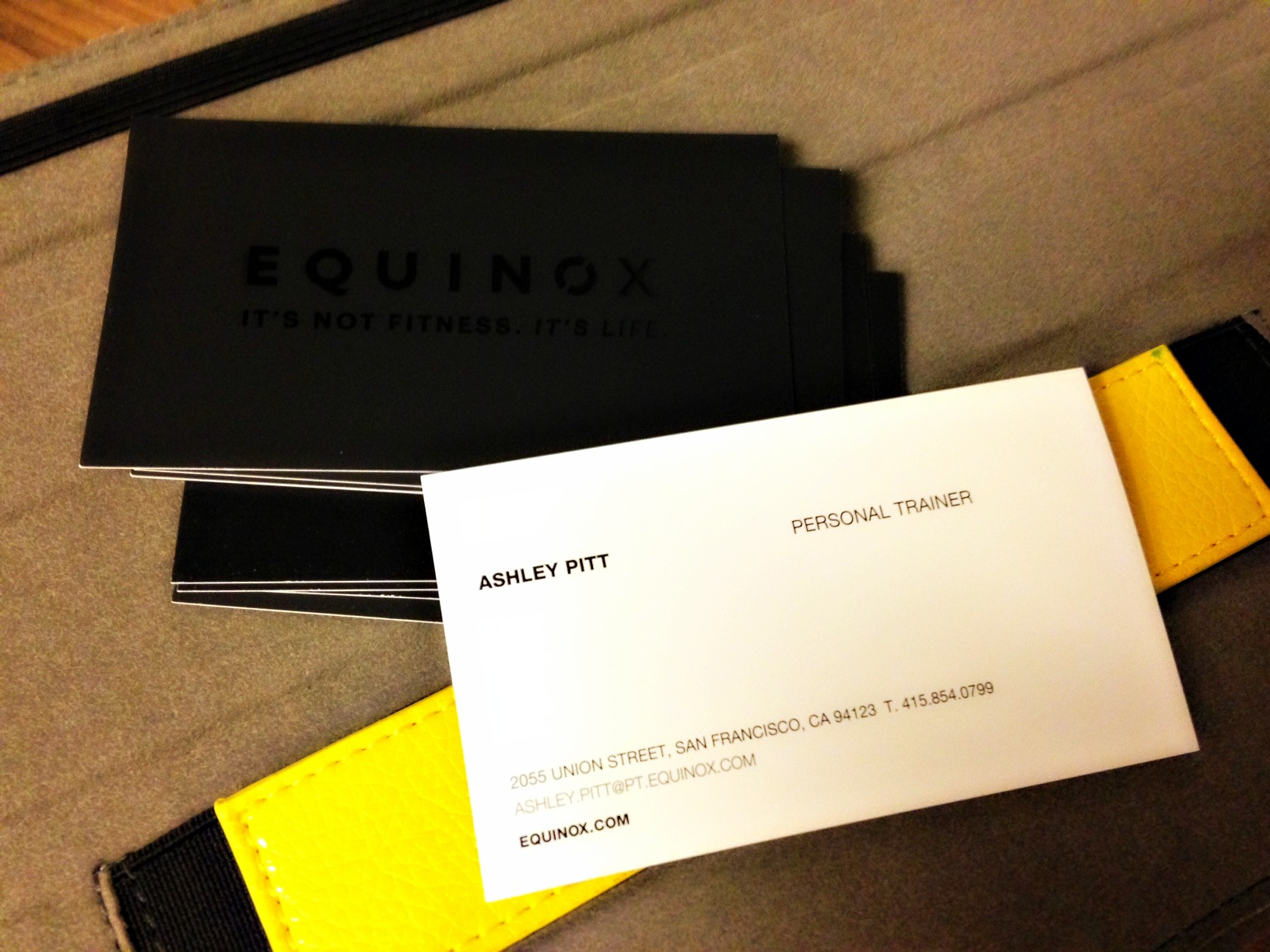 Equinox business cards | A Lady Goes West