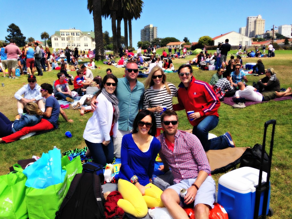 Fourth of July at Fort Mason