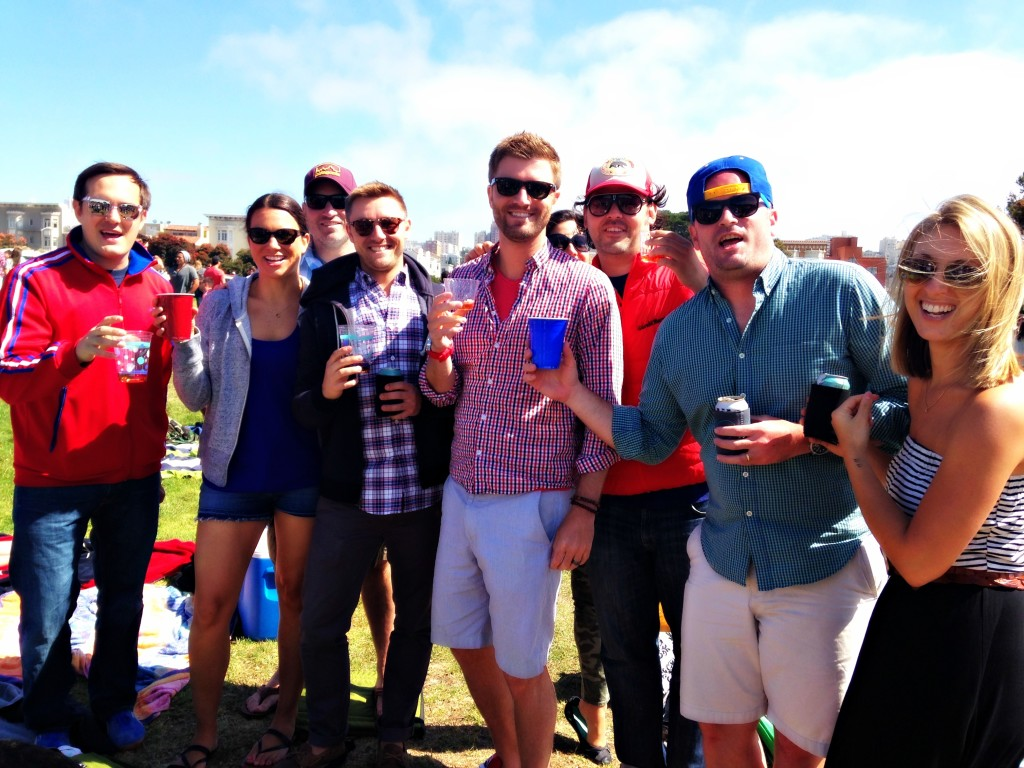 Fourth of July at Fort Mason group