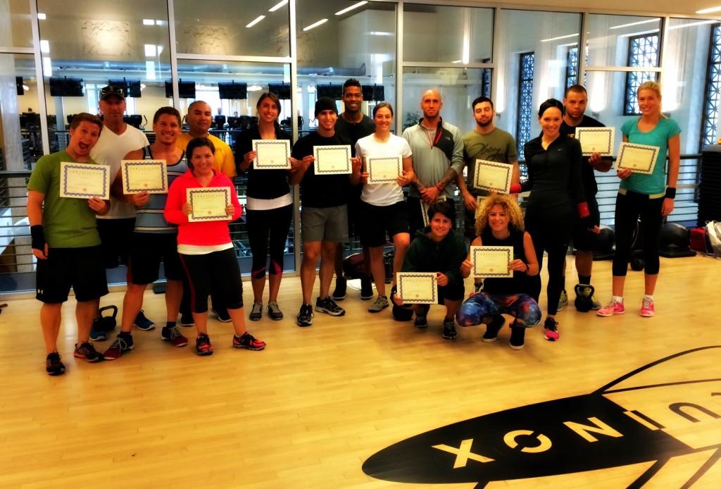 Kettlebell Athletics training