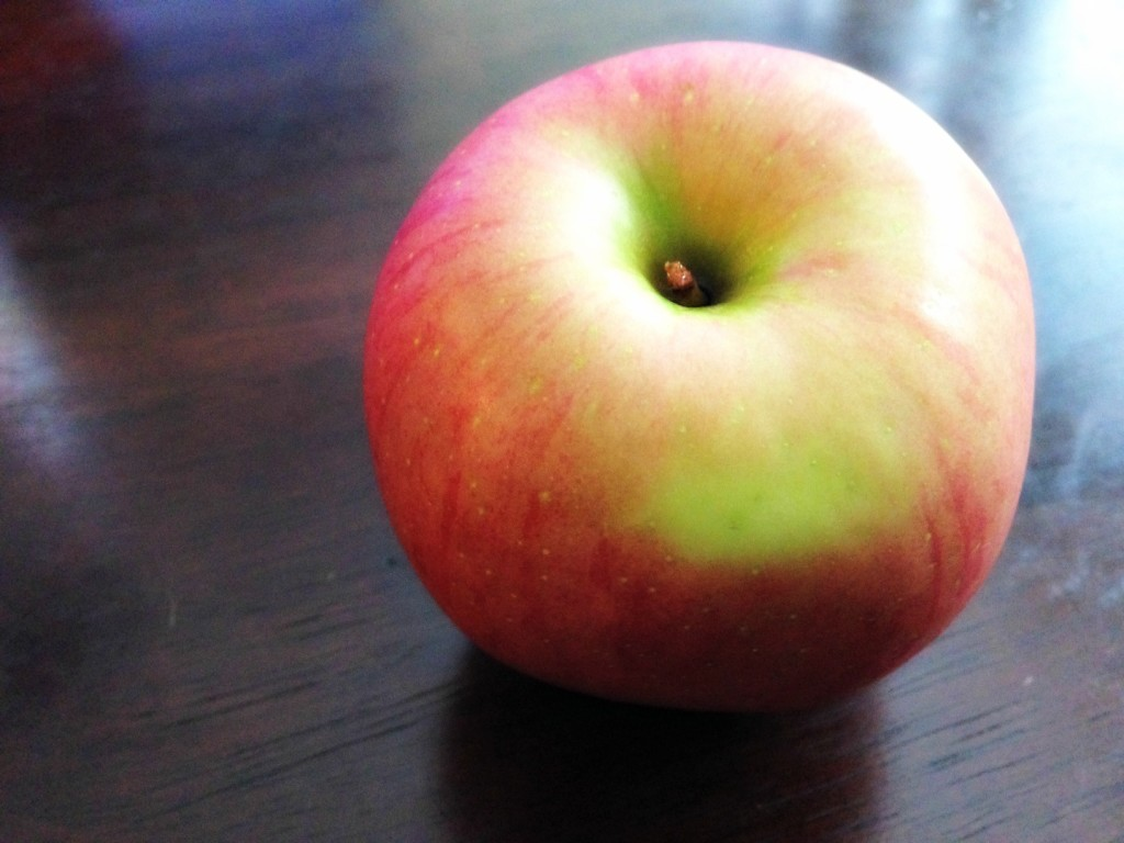 Afternoon apple snack
