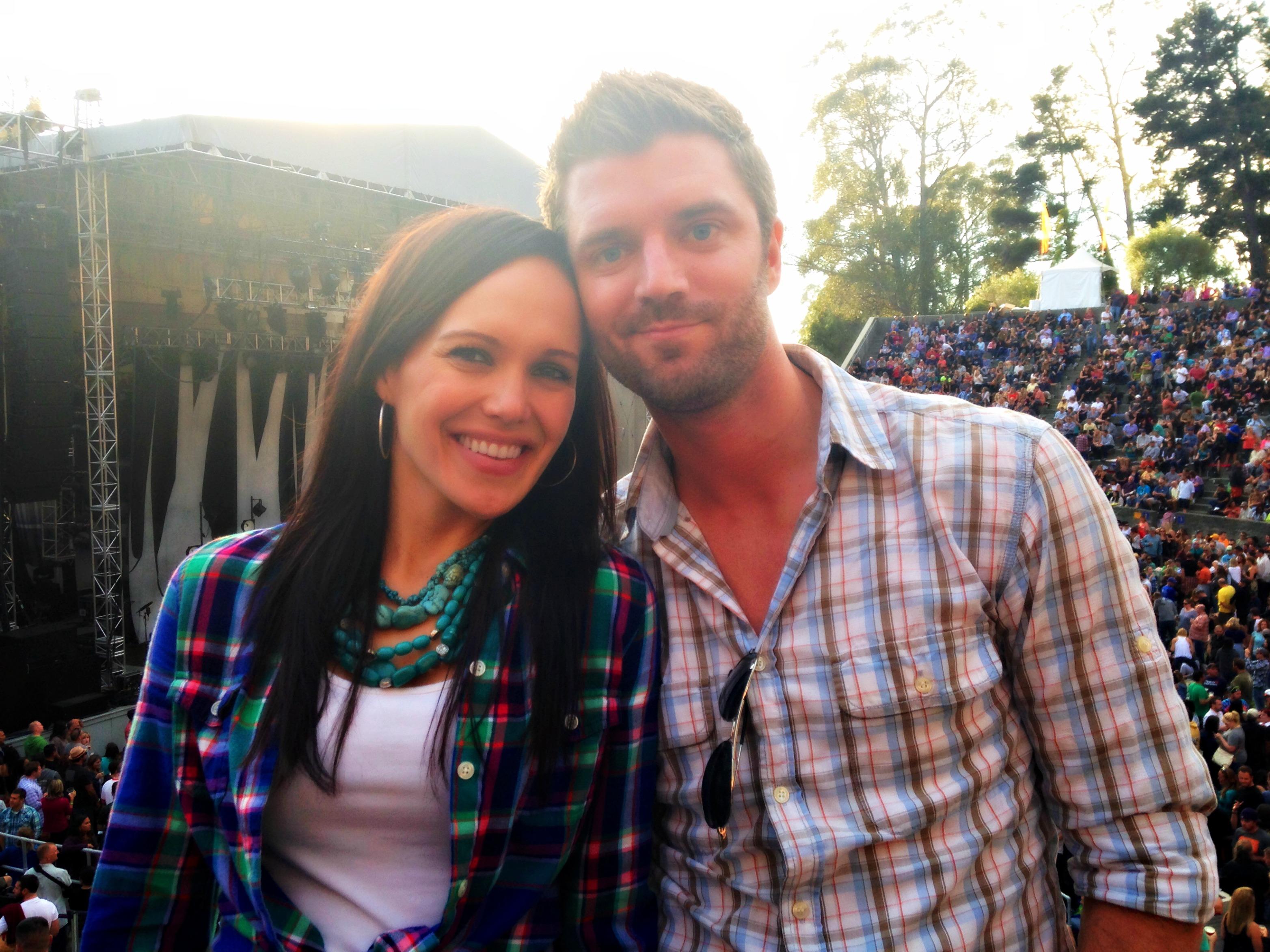 Ashley and Dave at DMB