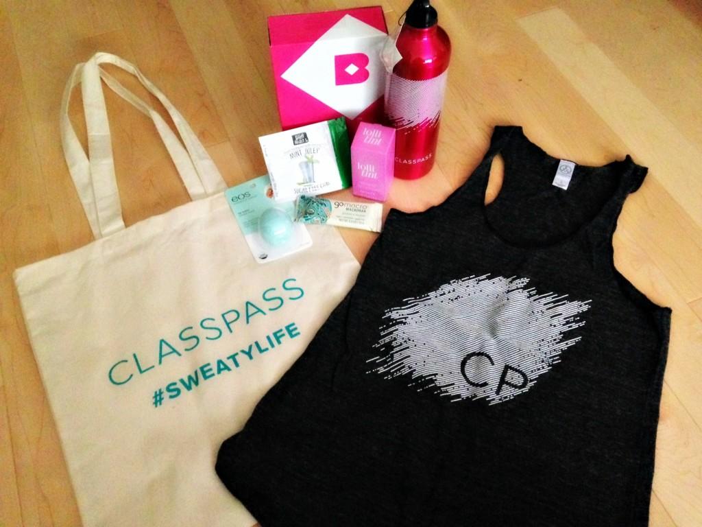 ClassPass Swag Bag