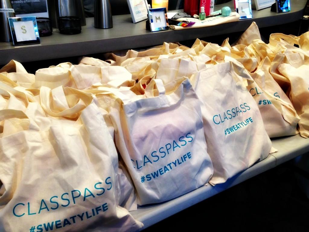 ClassPass bags