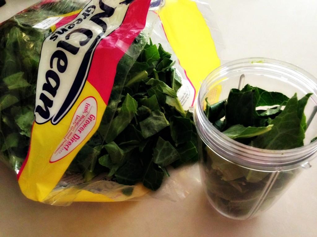 ollard greens and nutribullet