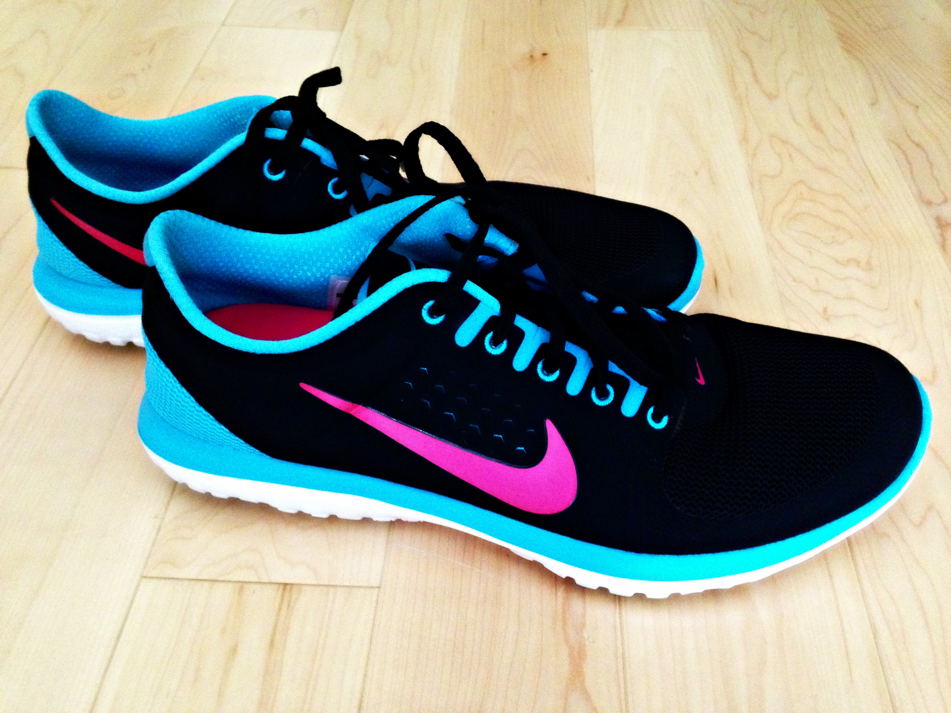 Nike sneakers via DSW