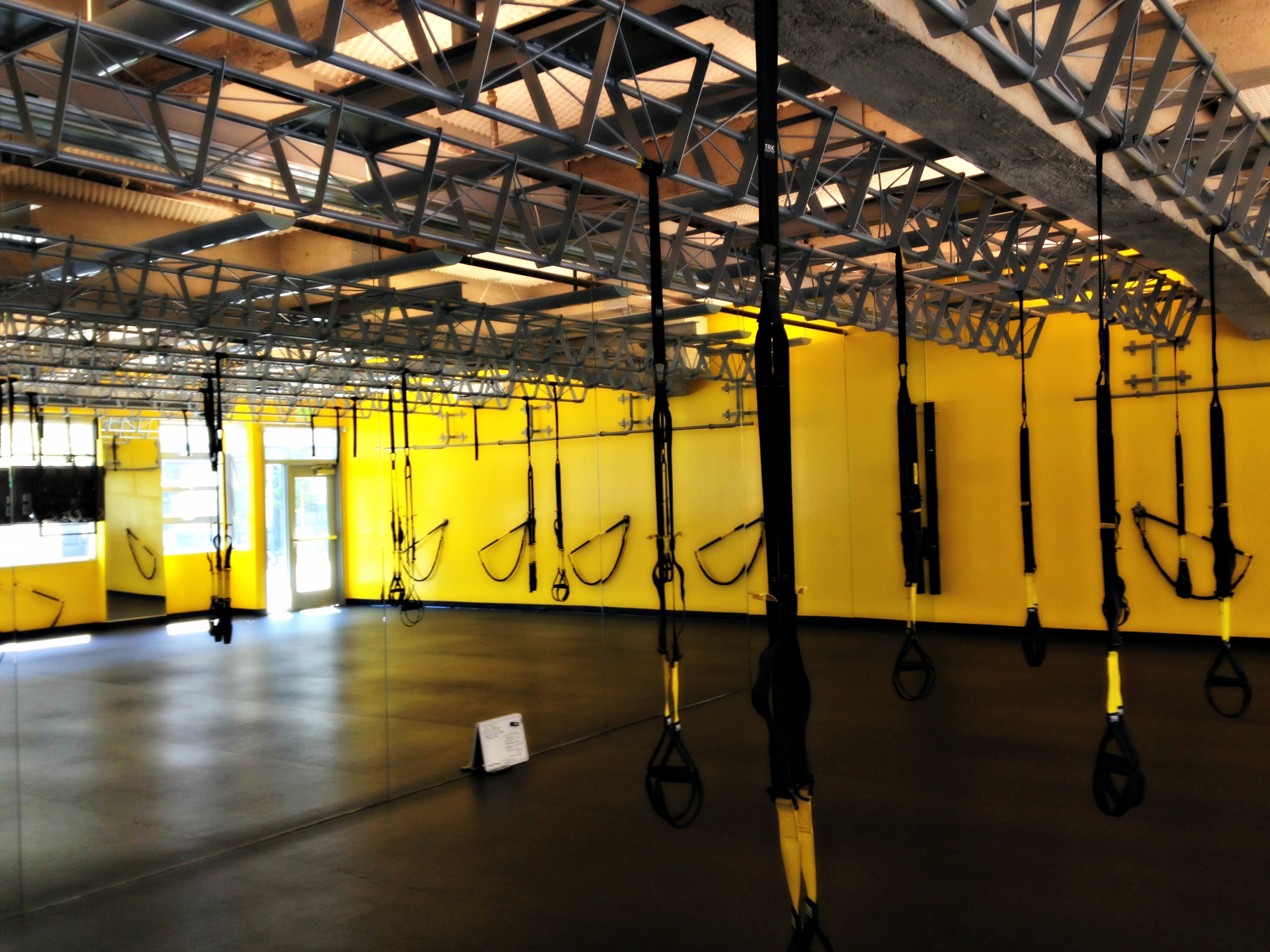 TRX training studio