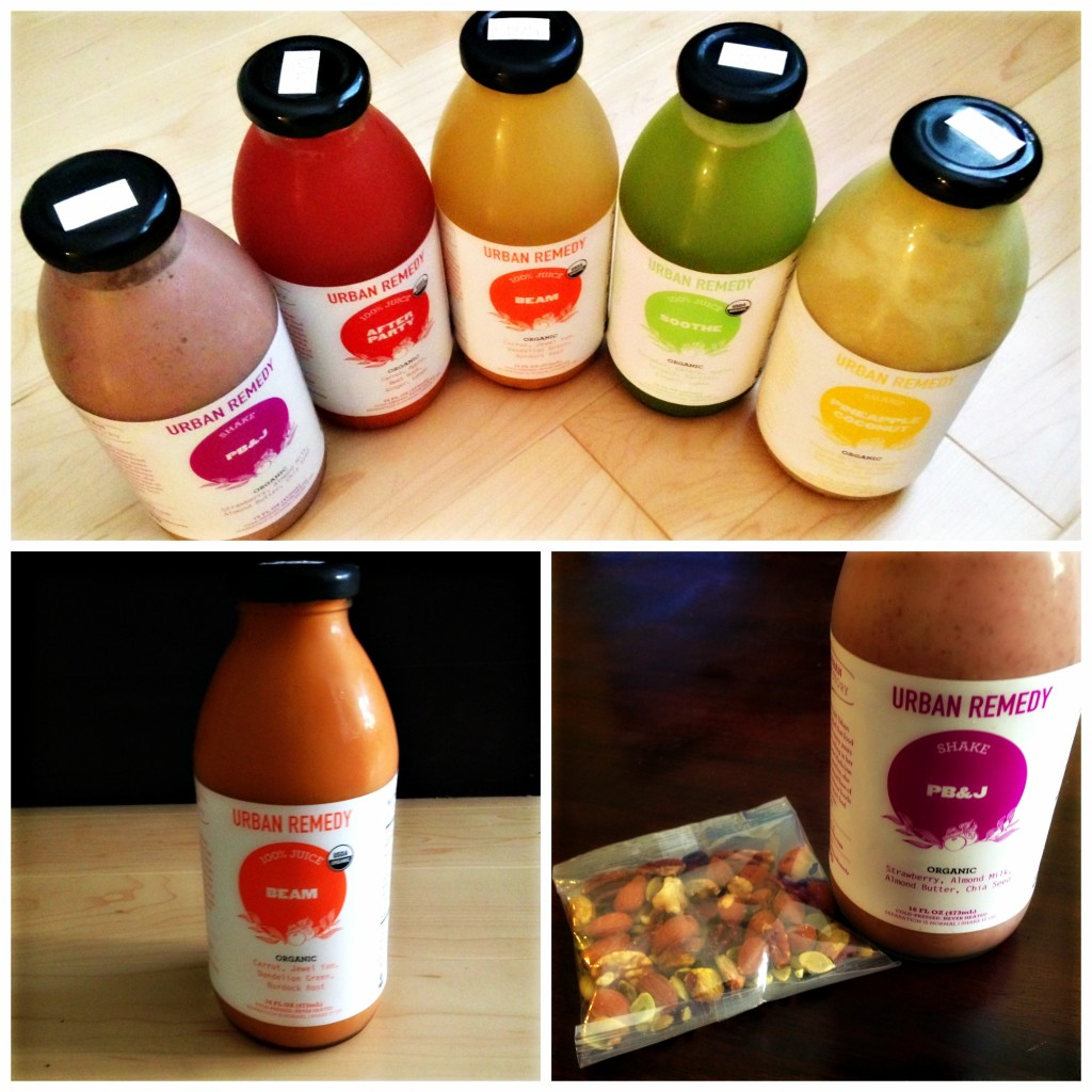 Urban Remedy Juices and Shakes