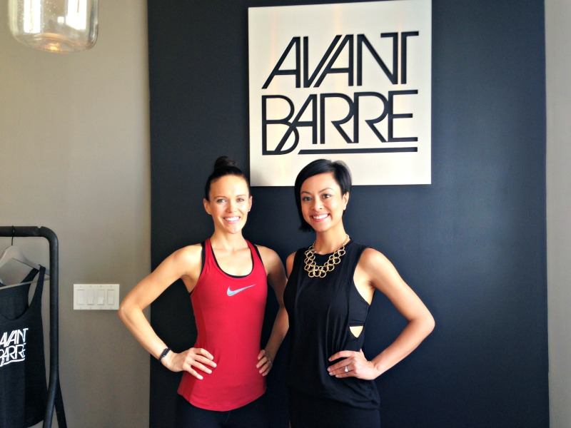 Ashley and Nini at Avant Barre