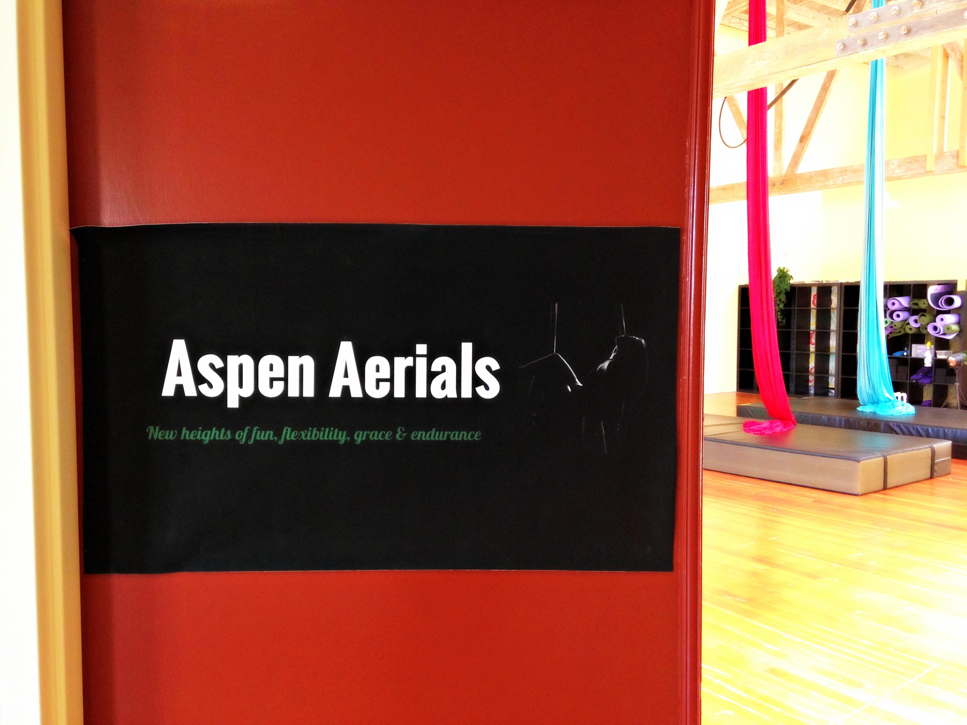 Aspen Aerials studio entrance