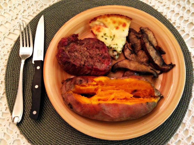Florida steak dinner