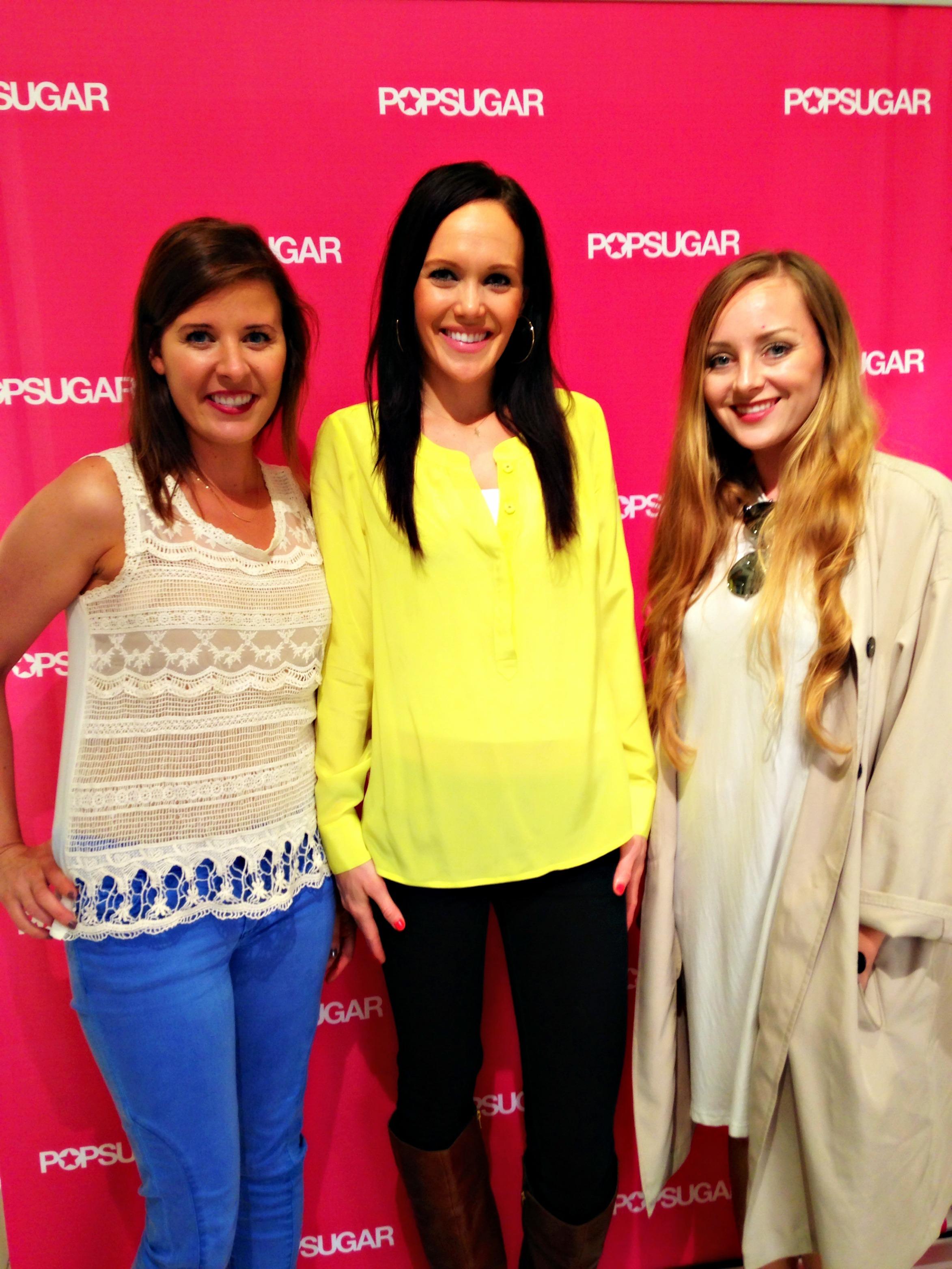 POPSUGAR Blog event