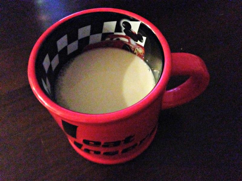 WIAW - almond milk
