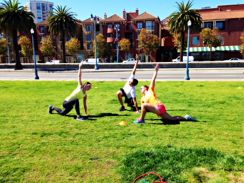 fitmob class in San Francisco on the Bay