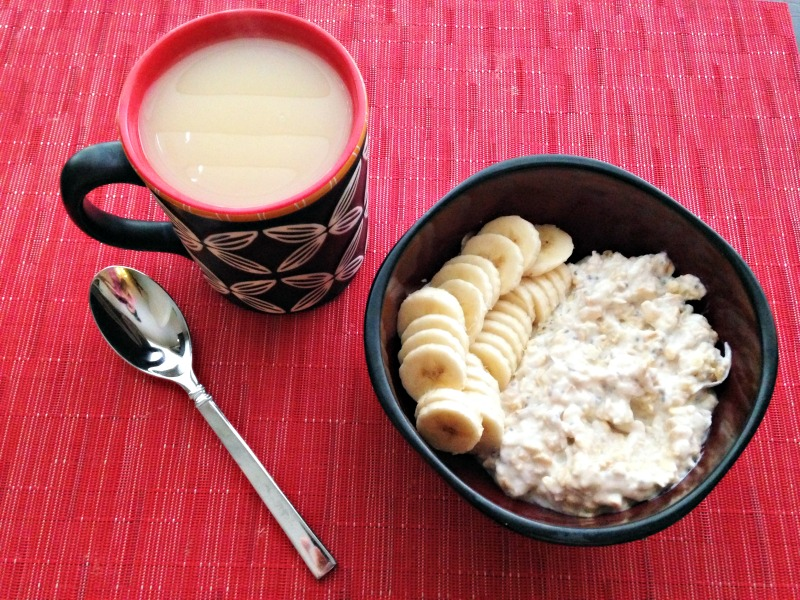 Overnight oats breakfast 11.11