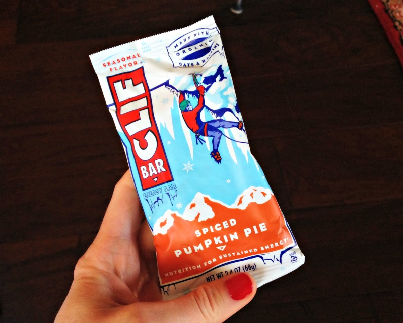 Spiced pumpkin pie Clif Bar