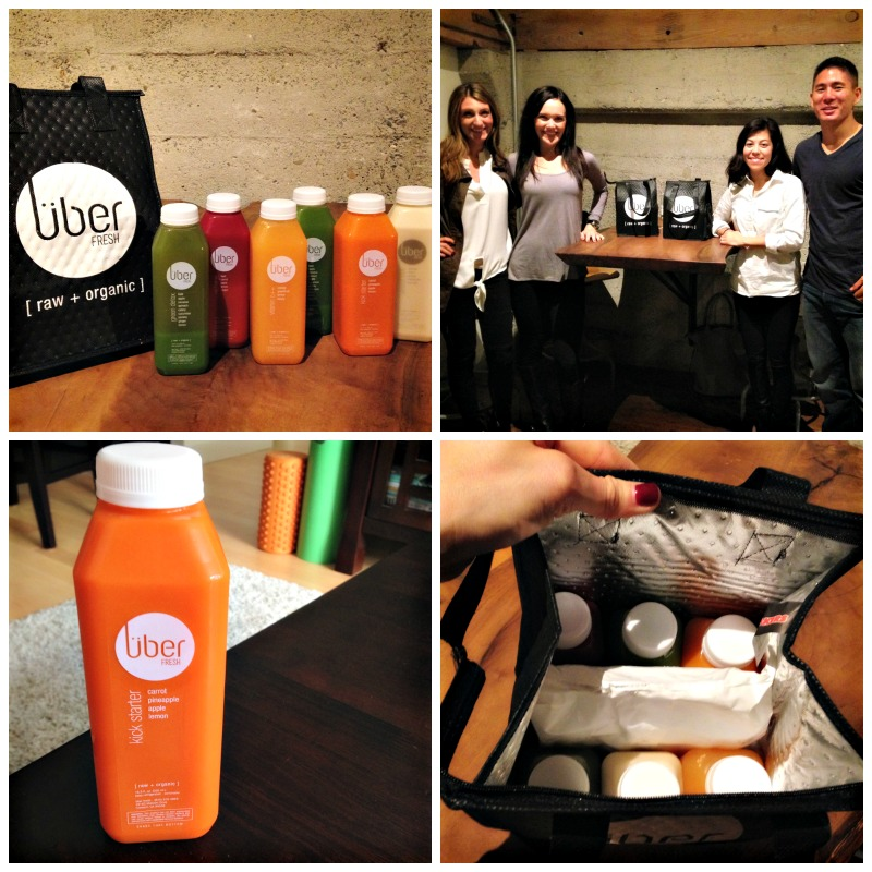 Uber Fresh juices via A Lady Goes West