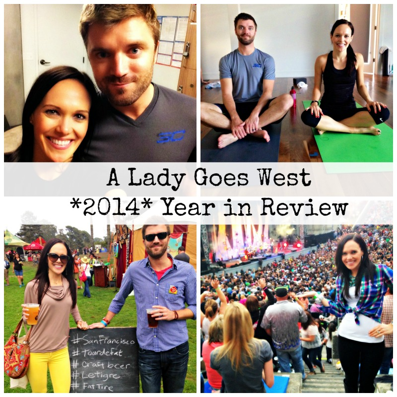 A Lady Goes West 2014 Year in Review