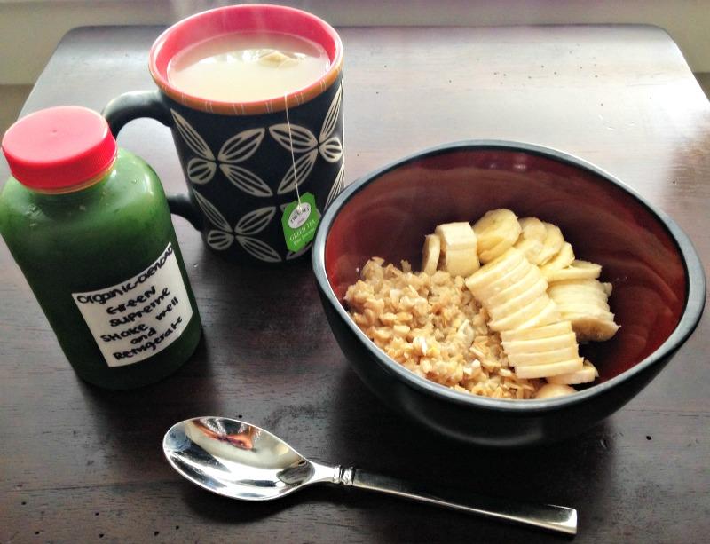 Breakfast on 12.7