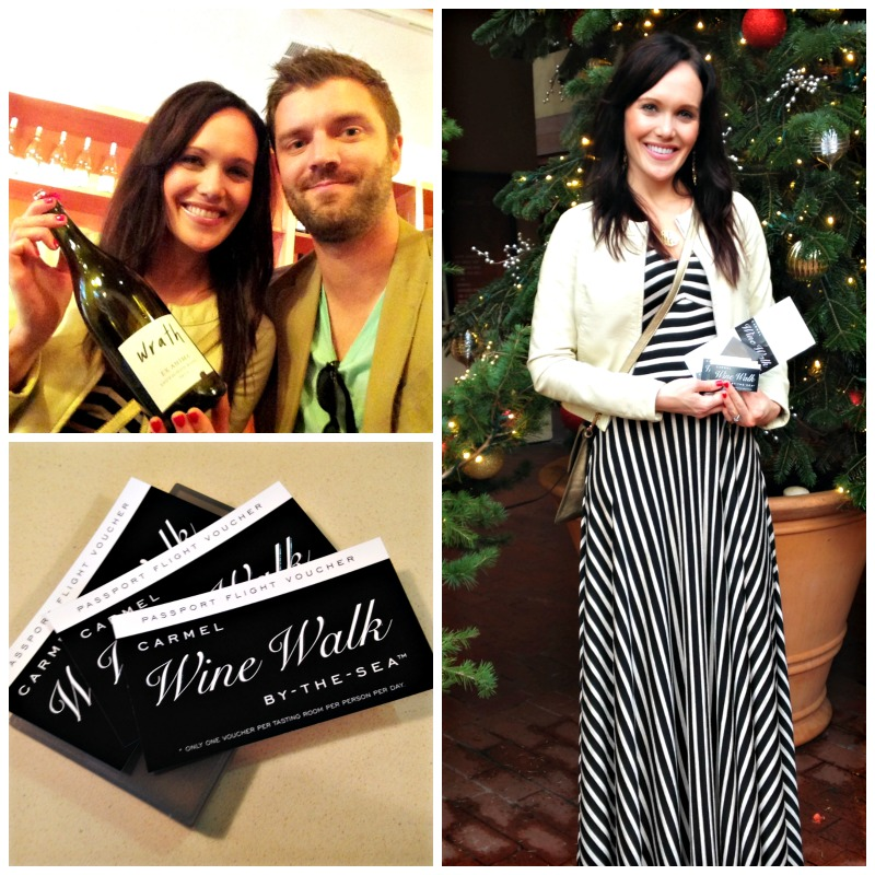 Carmel Wine Walk via A Lady Goes West