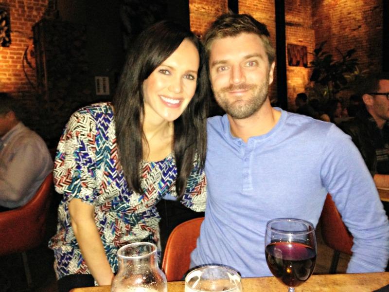 Dave and Ashley in LA
