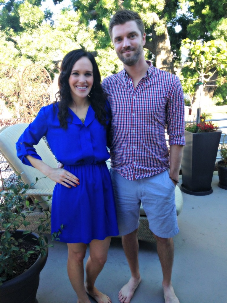 Dave and Ashley on Thanksgiving