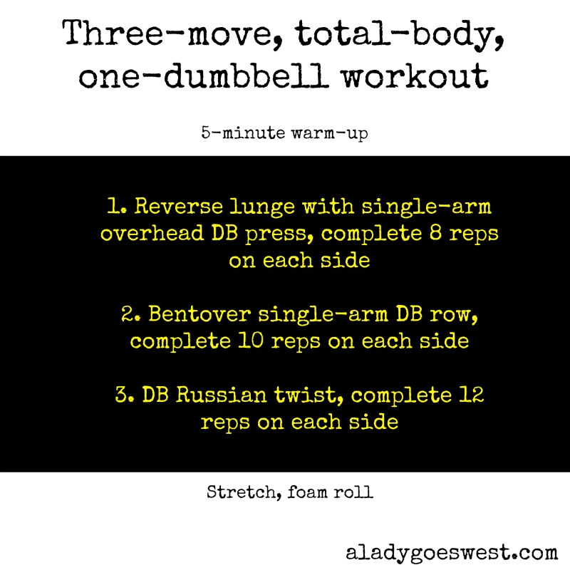 Awesome three-move workout + my fitness