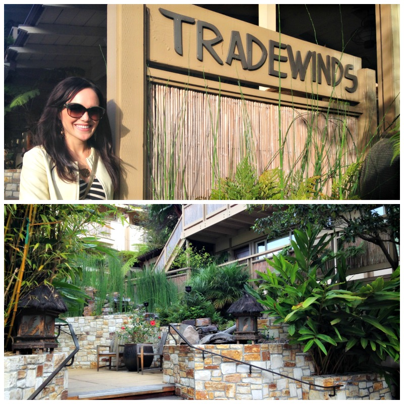 Tradewinds Carmel via A Lady Goes West