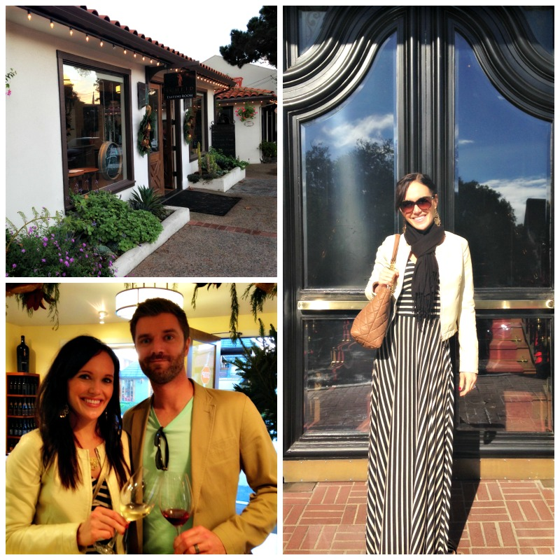 Wine Walking in Carmel via A Lady Goes West