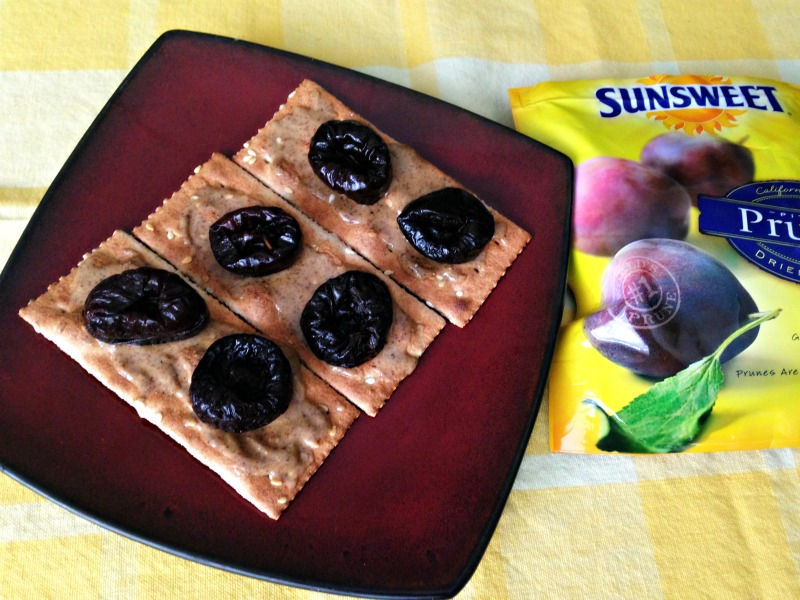 Almond butter prune flatbread via A Lady Goes West