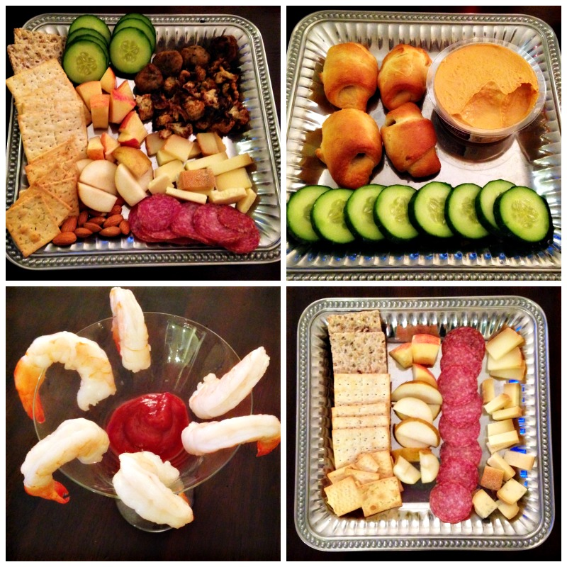 Appetizers at home