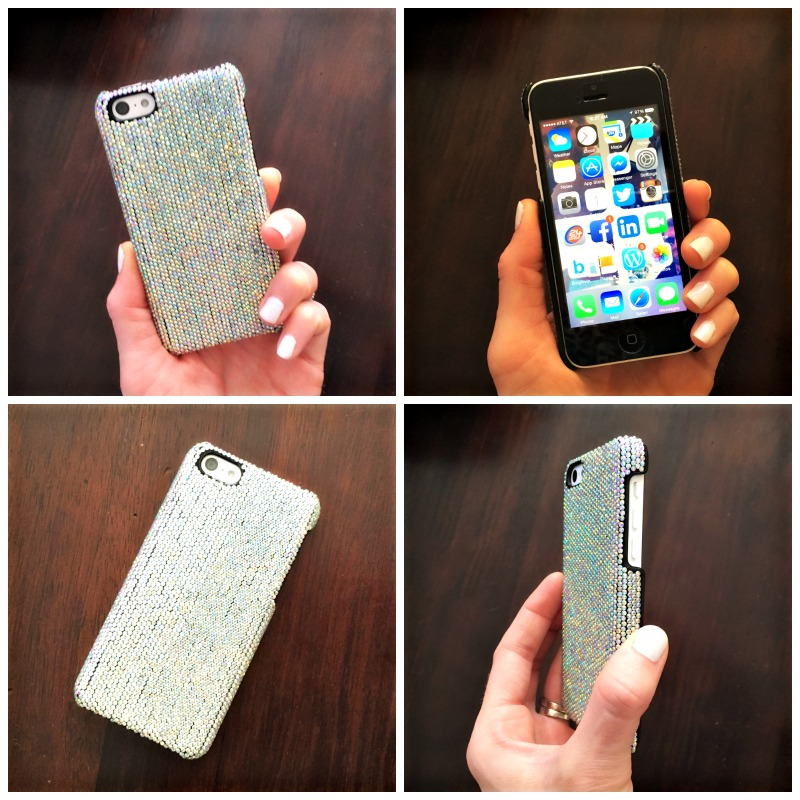Cell phone case bling