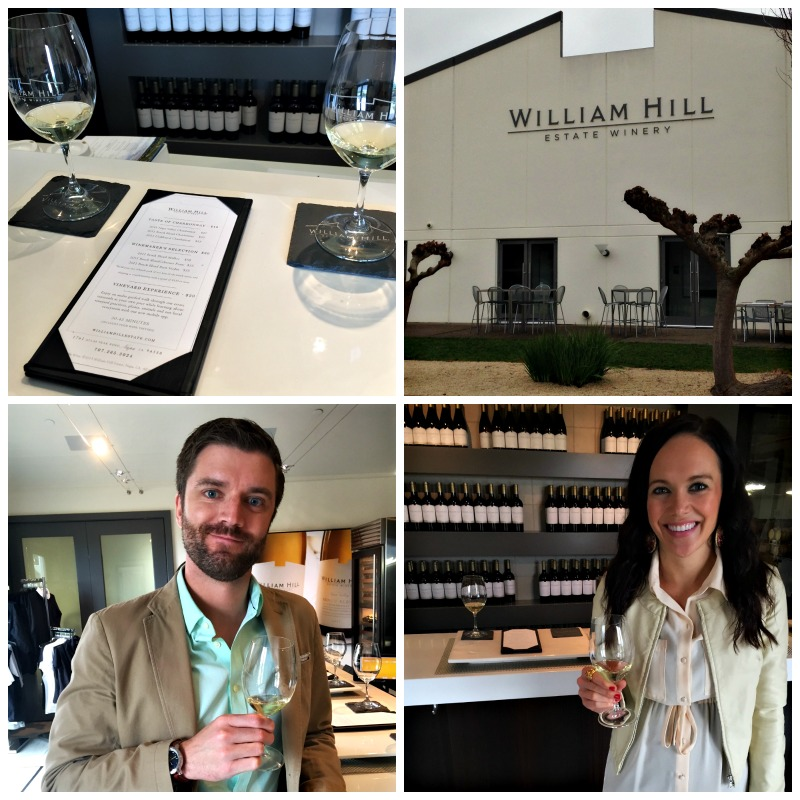 William Hill Estate Winery tasting via A Lady Goes West
