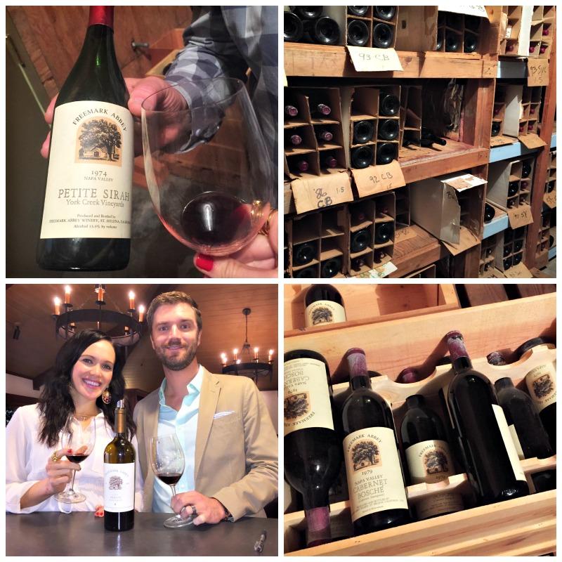 Wine tasting at Freemark Abbey via A Lady Goes West