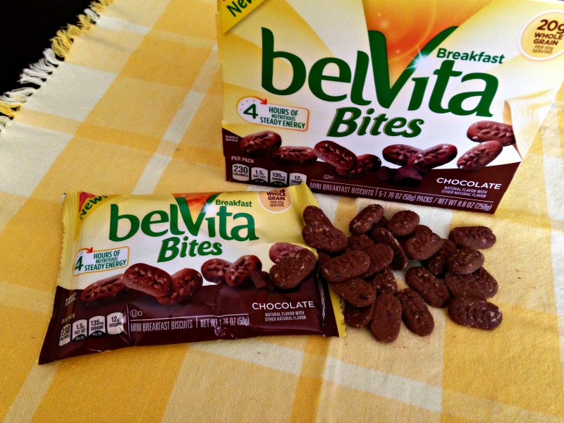 belVita Bites chocolate via A Lady Goes West