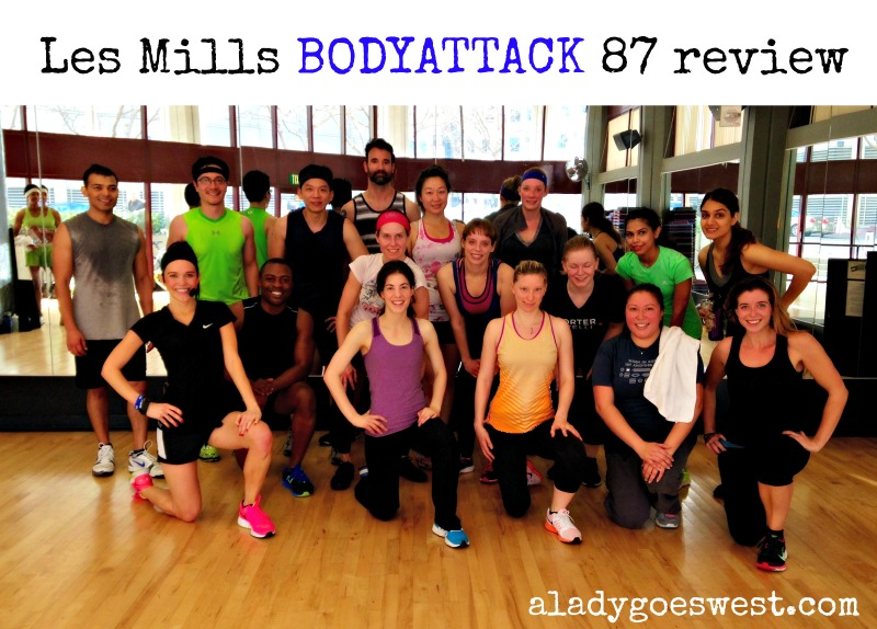 Les Mills BODYATTACK 87 class review