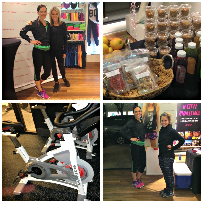 Move Nourish Believe with LJ at Union Street store via A Lady Goes West