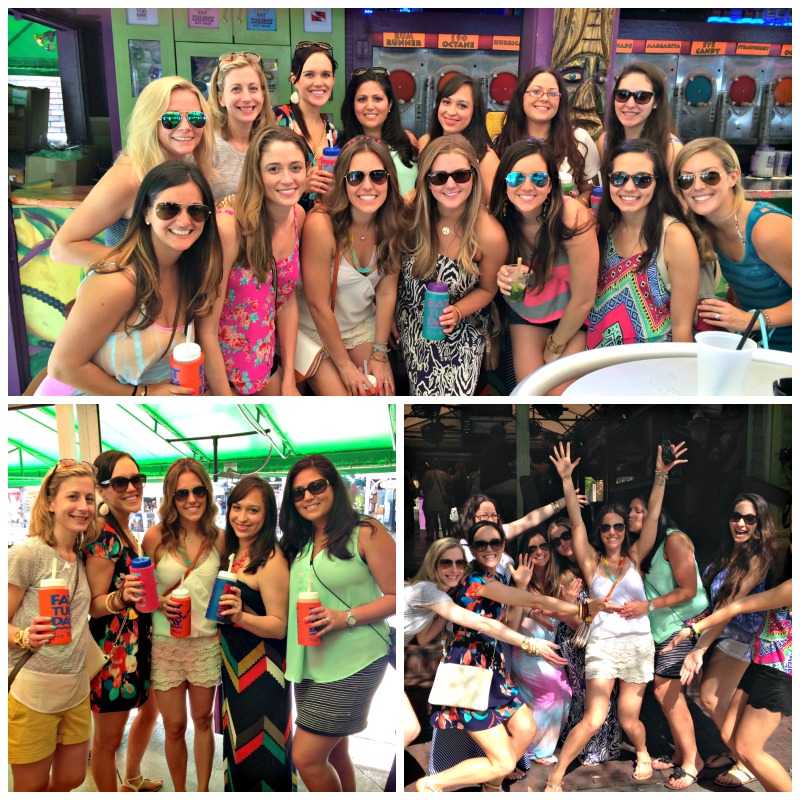 A super-fun Key West bachelorette party