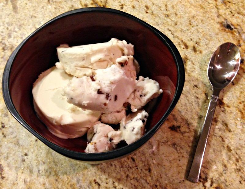 Frozen dessert on Sunday