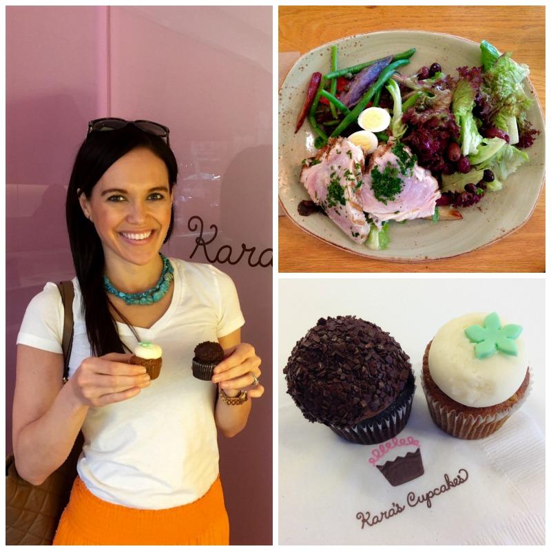 Kara's Cupcakes and Tender Greens
