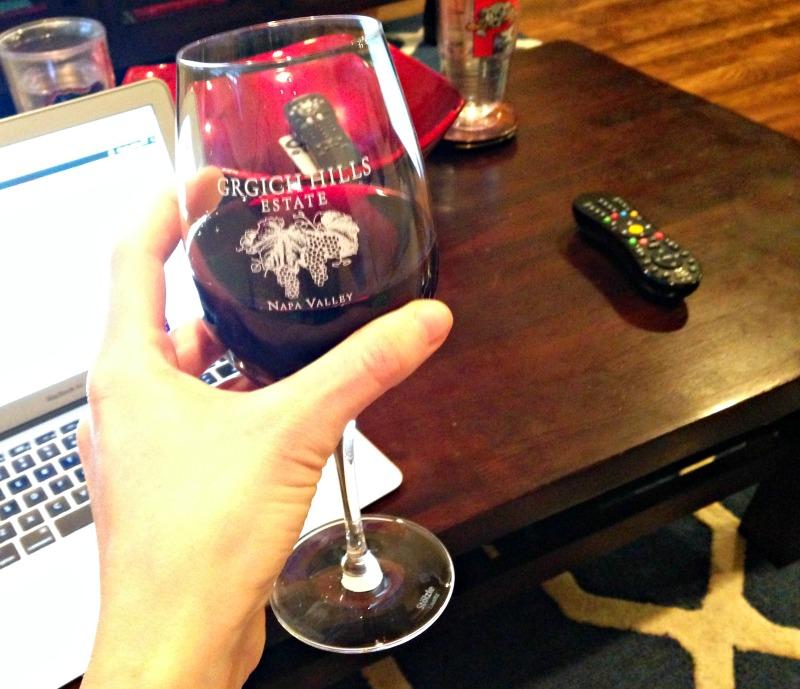 Red wine on Sunday
