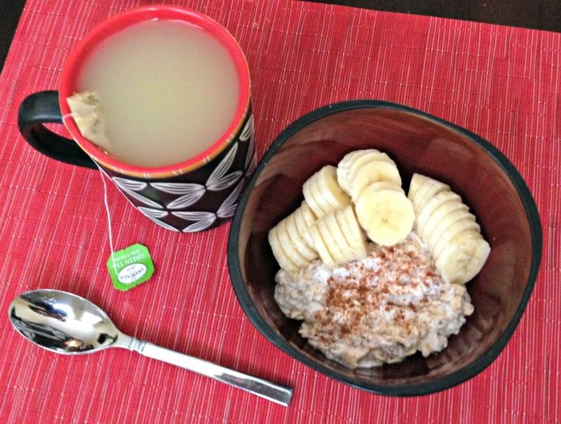 Breakfast of oats 4.27