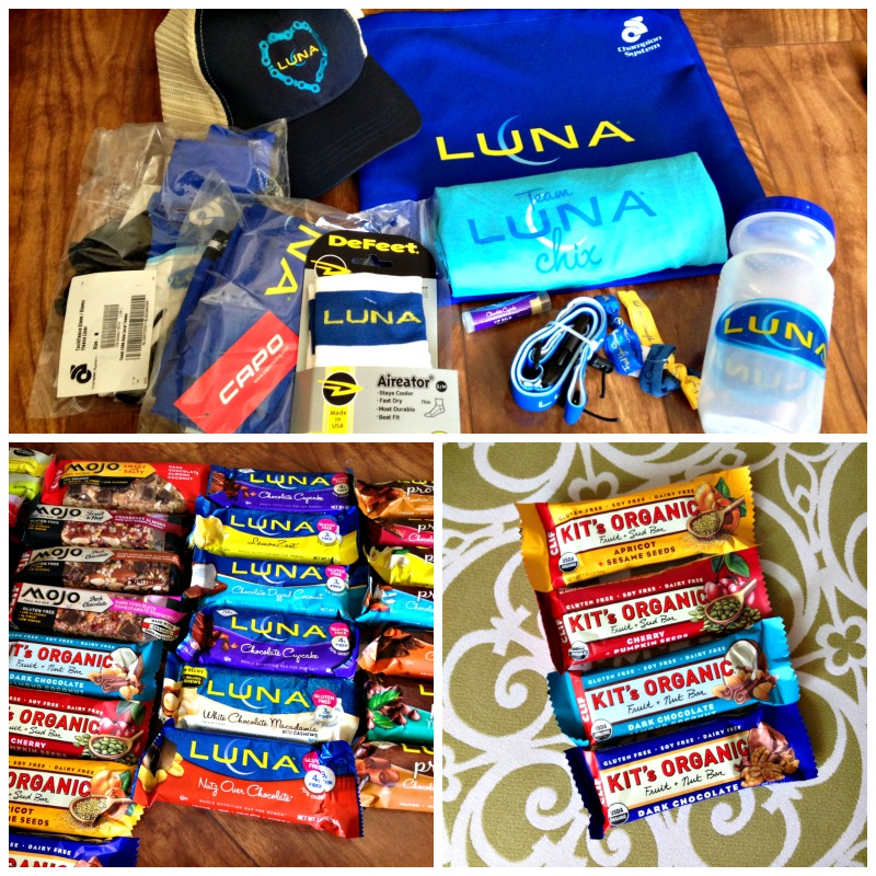 LUNA bars and swag via A Lady Goes WestLUNA bars and swag via A Lady Goes West