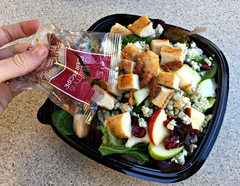Topping the Wendy's Apple Pecan Chicken Salad