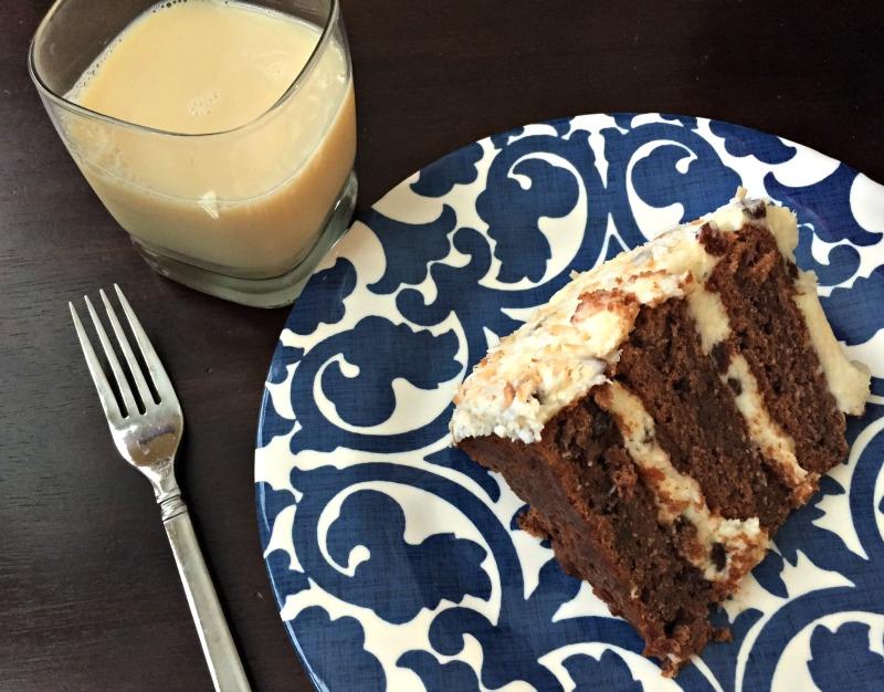 Carrot cake for dessert 5.17