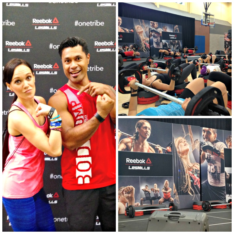 Les Mills Super Q event BODYPUMP