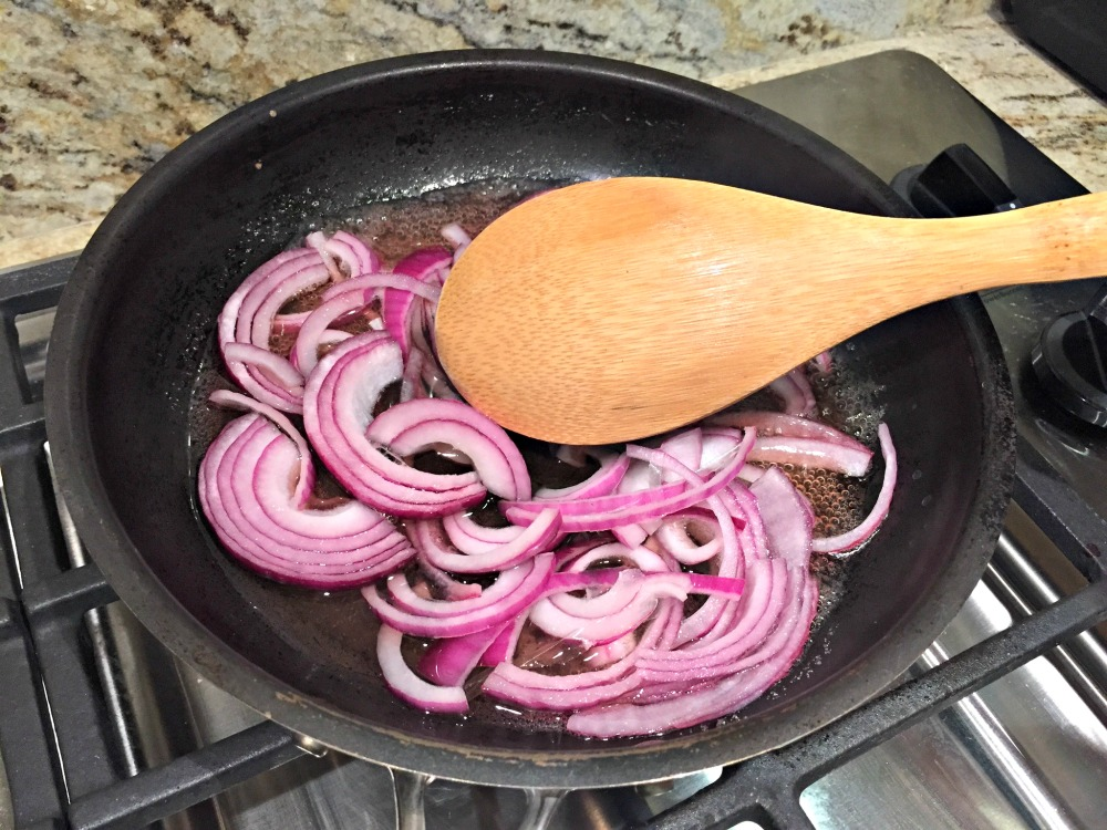 Pickling the onions for Blue Apron