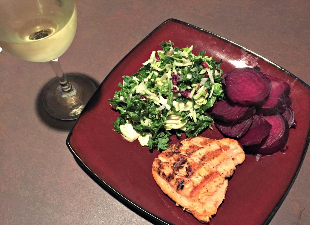Salmon dinner 5.17