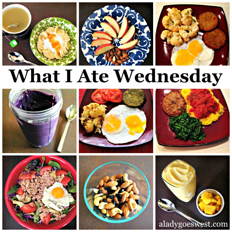 """What I Ate Wednesday"" food talk and pictures"