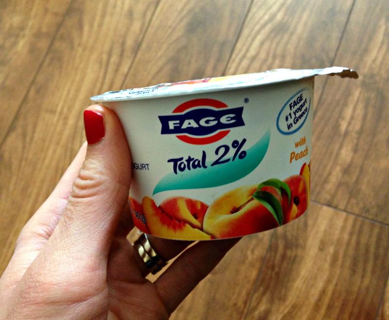 Yogurt for a snack 5.10.11